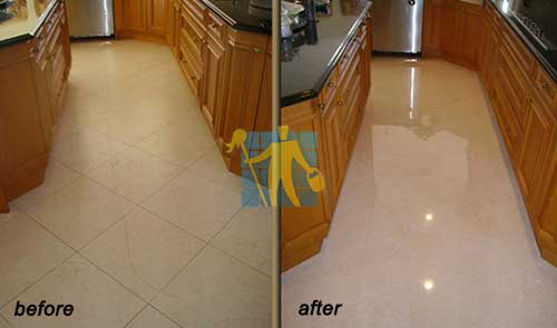 marble crack repair before and after