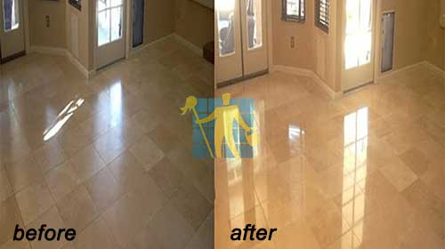 beautiful Floor Marble Restoration before and after Bayside